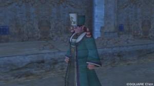 「オッド神父」にガミルゴの護符を渡す