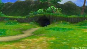 地底湖の洞窟の場所