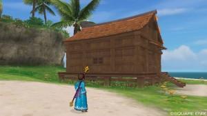 ラーディス王島の小屋