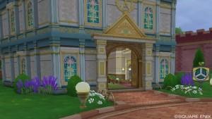 桃色の城の城下の身寄りのない子が集う家