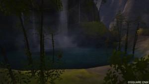 ギルザッド地方の東にある宣誓の滝