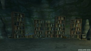 神代の間の本棚