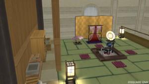 Ver1.5畳な和風家具セットが住宅村の家具に追加!3