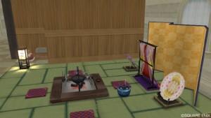 Ver1.5畳な和風家具セットが住宅村の家具屋に追加!6