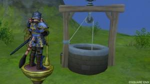 荒野の枯れ井戸