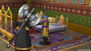 真のアラハギーロ王国2階F-7休憩室にいるダラシュと会話