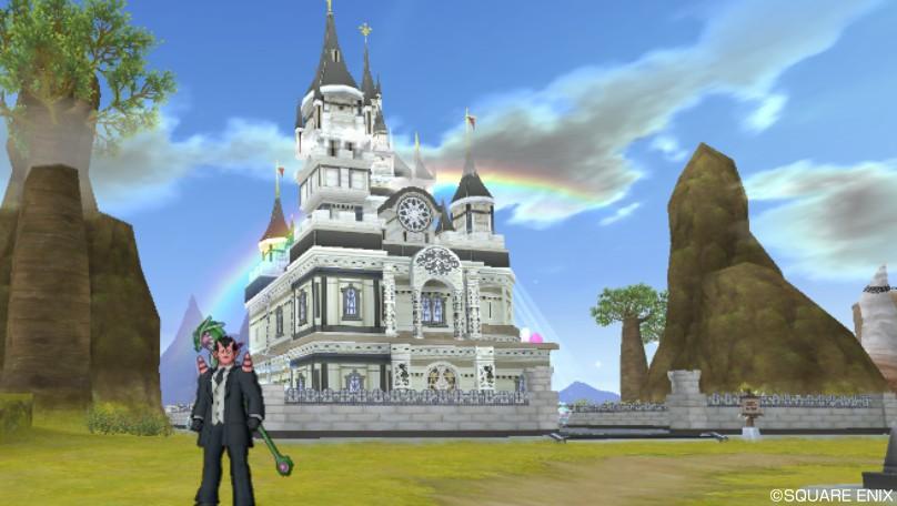新家キット大きなお城の家外装 ...