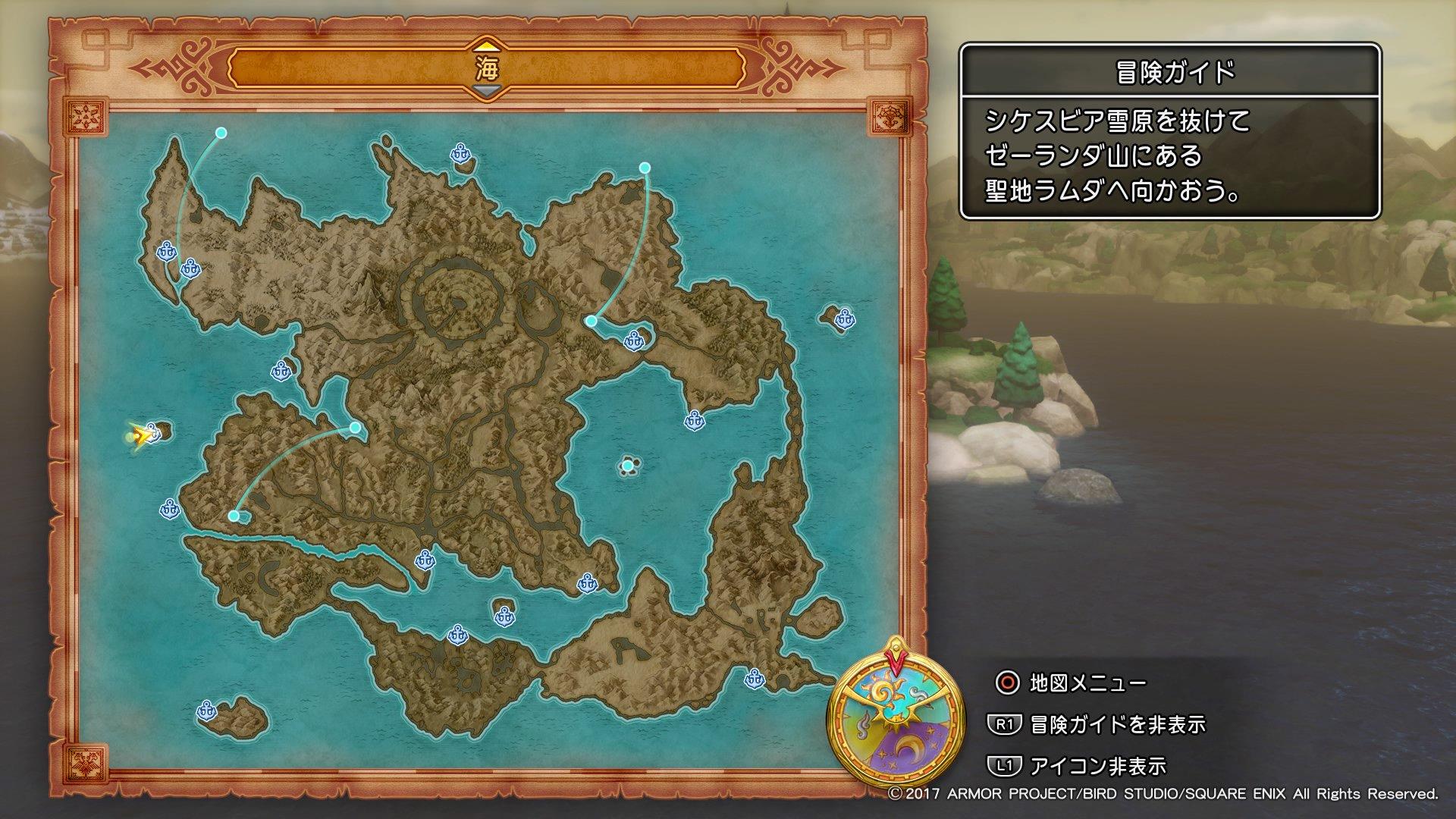 西の果て無人島の場所マップ