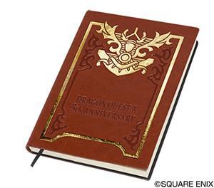 ドラゴンクエストXグッズ「ドラゴンクエストX ノート 冒険の書タイプ」