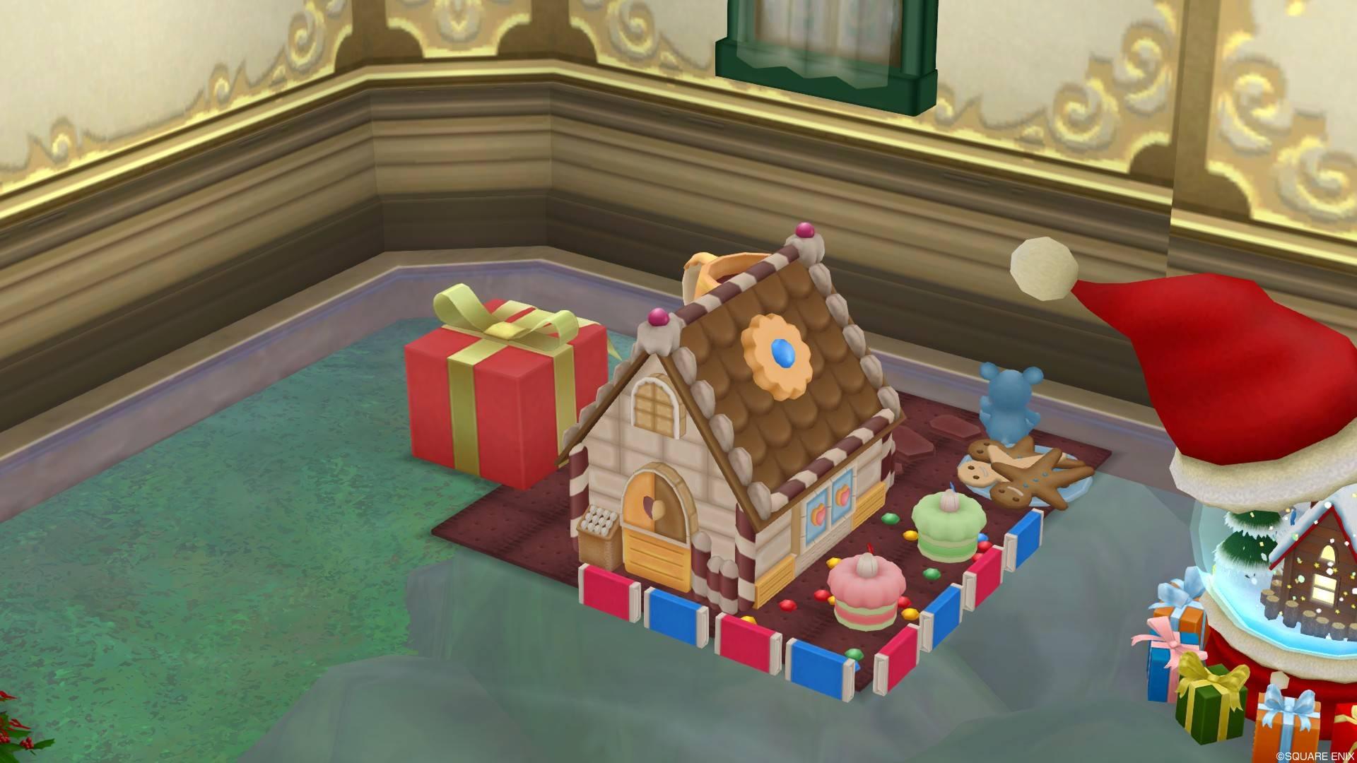 2017年新作クリスマス家具お菓子の家セット2